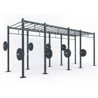 STRUCTURE CROSS TRAINING 577 x 180 x 275 cm, Cross training centrales
