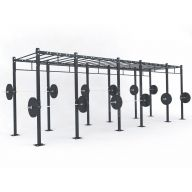 STRUCTURE CROSS TRAINING 690 x 180 x 275 cm Cross training centrales